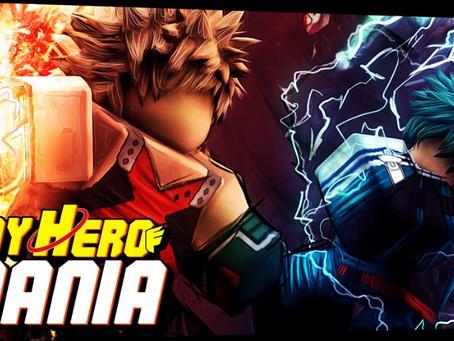 My Hero Mania Codes - May 2021