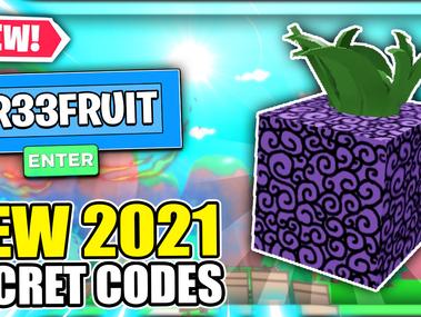 Roblox All Blox Fruits Codes - September 2021