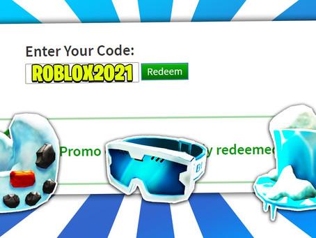 All New Roblox Promo Codes - April 2021