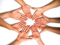 Circle of Human Hands