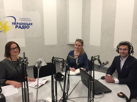Interview on Ukrainian Radio - 2017