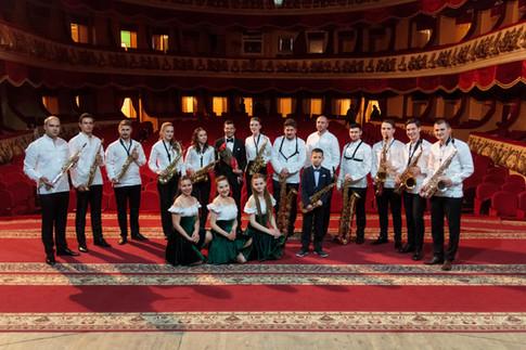 Ukrainian Saxophone Ensemble, Vinnitsya, Ukraine - 2017