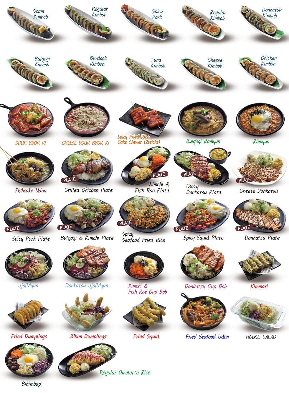 popular korean dishes