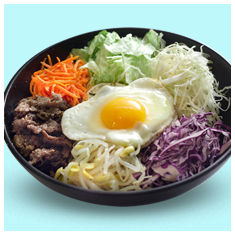 popular korean dish bibimbob