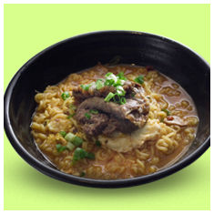 popular korean dish bulgogi ramyun