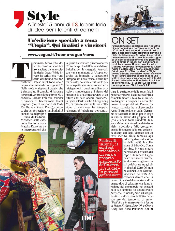 L'uomo Vogue Italie