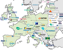 8- Gas transmission operators in Europe