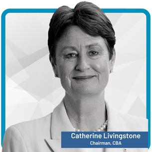 Catherine Livingstone AO, Chairman, Commonwealth Bank