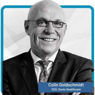 Dr Colin Goldschmidt CEO and Managing Director, Sonic Healthcare