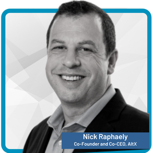Nick Raphaely Co-Founder and Co-CEO, AltX