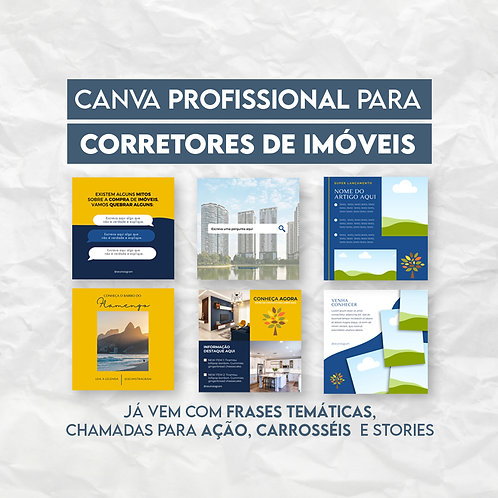 PACK 30 ARTES - CORRETORES DE IMÓVEIS
