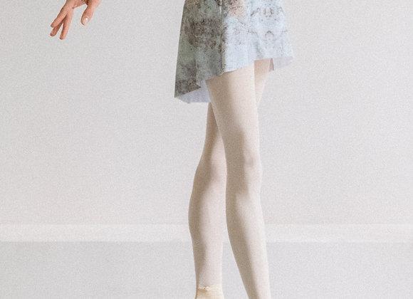 雲石暈染短練習裙(淺色)