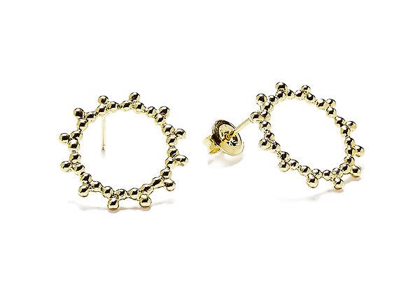 Soleil 太陽耳環(金)