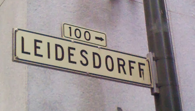 Leidesdorff Street, San Francisco