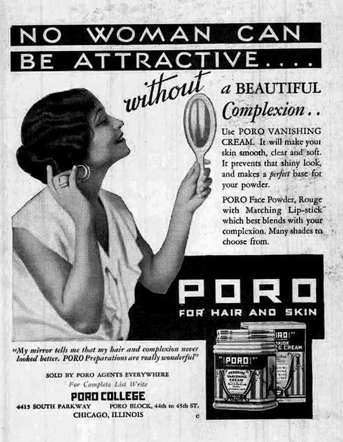 Poro College advertisement Annie Malone