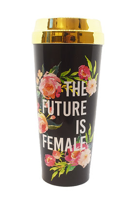 The Future is Female Travel Mug