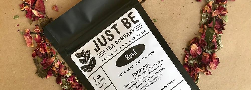 Just Be Tea Company Rose