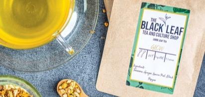 The Black Leaf Tea and Culture Shop Glow