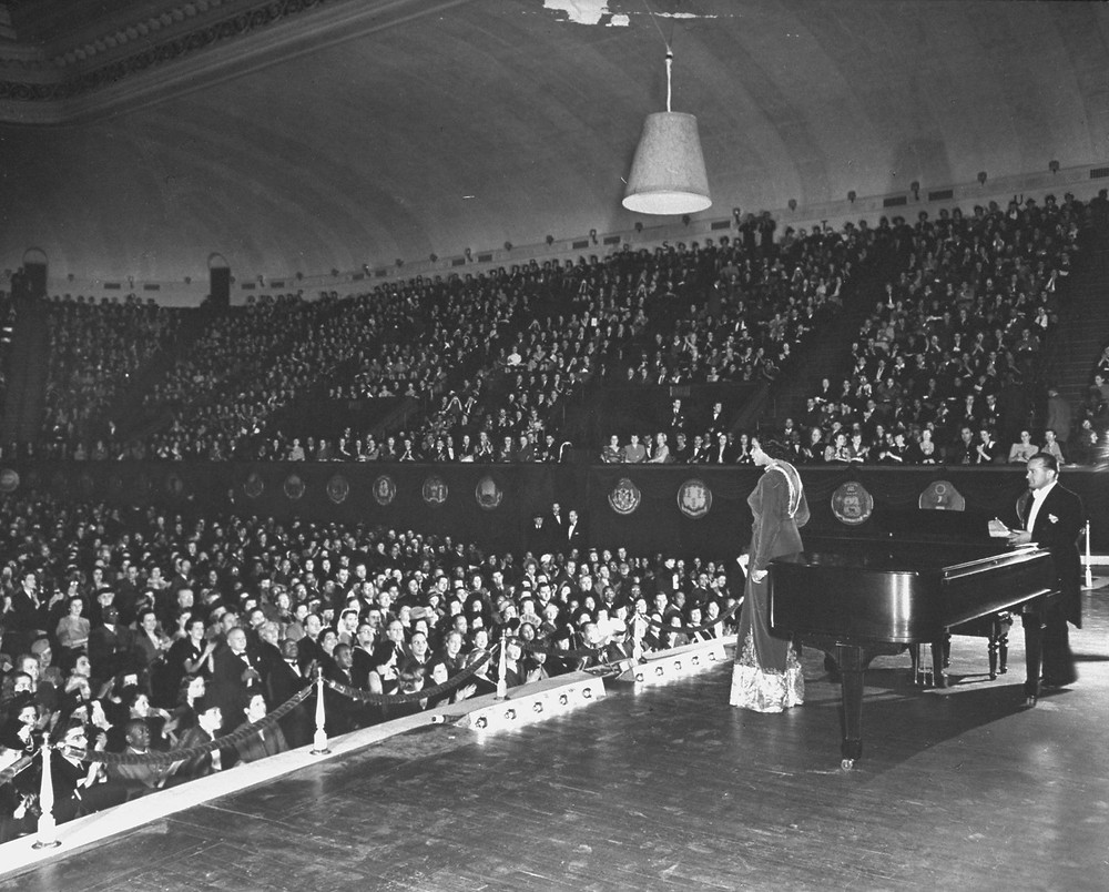 Marian Anderson Performance at Constitution Hall