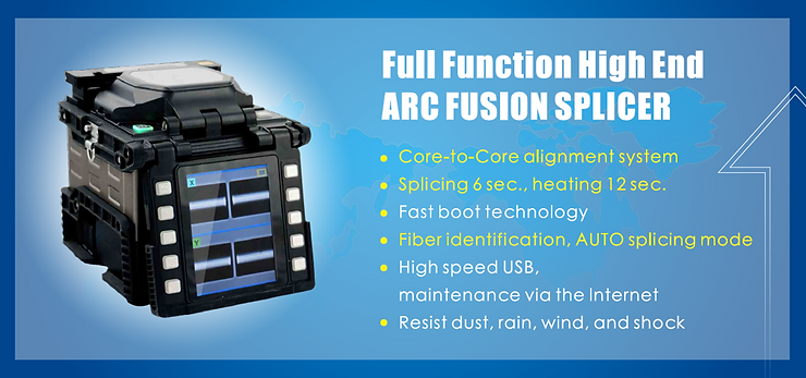 Rent Fiber Optic Fusion Splicer