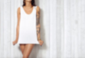 Woman-wearing-blank-sleeveless-tshirt-00