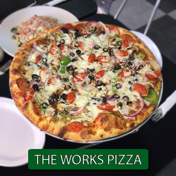 THE WORKS PIZZA