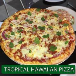 TROPICAL HAWAIIAN PIZZA