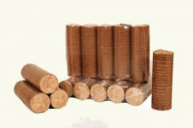 Buchette de bois densifiées