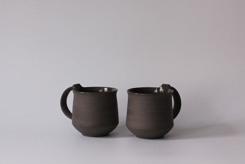 Slate Grey Mugs