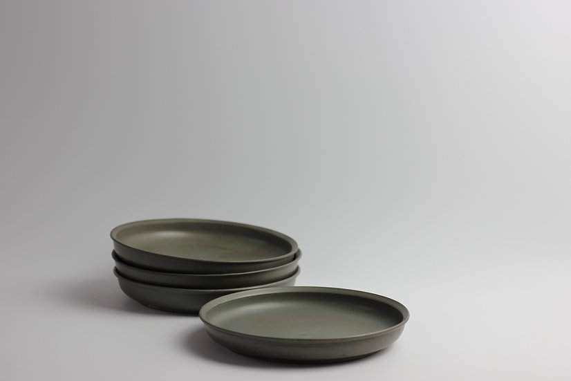 Pewter Side Plates