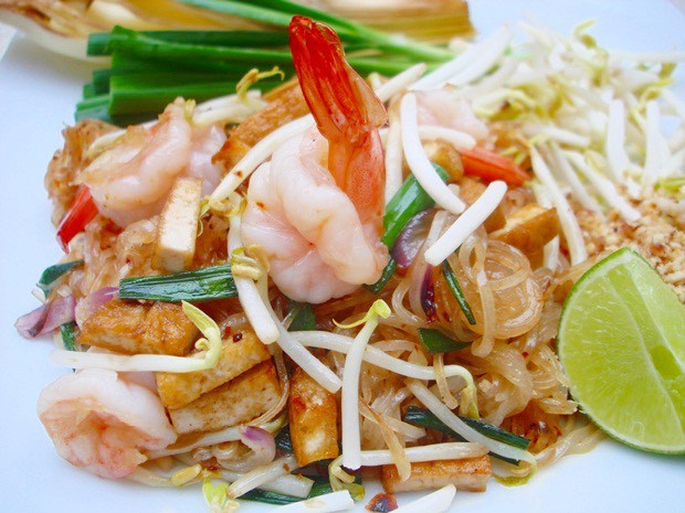 Thai Basil Bath Food Pad Thai