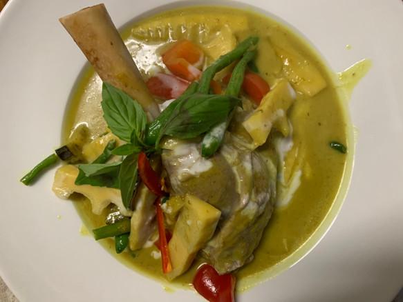 Thai Basil Bath food green curry