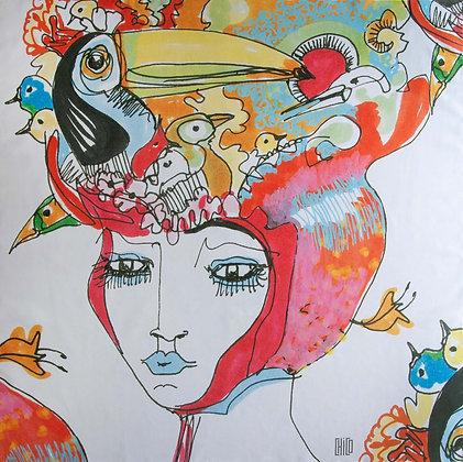 Scarf III - Bird Head