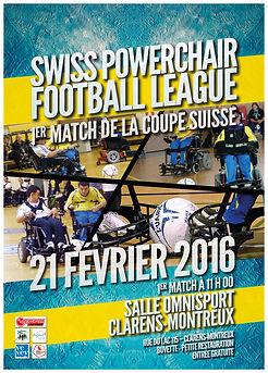 Swiss Powerchair Football League 2016