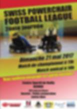 Swiss Powerchair Football League 2017