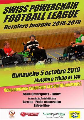 Swiss Powerchair Football 5 oct19 Foot Fauteuil Suisse