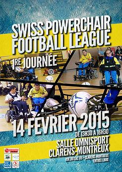 Swiss Powerchair Football League 2015