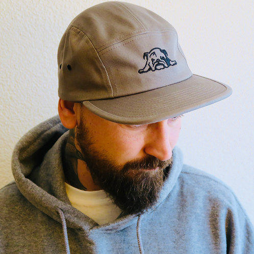 Bulldog Booking Classic Jockey Grey 5-Panel