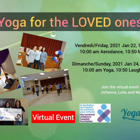 Yoga for the LOVED ones 2021