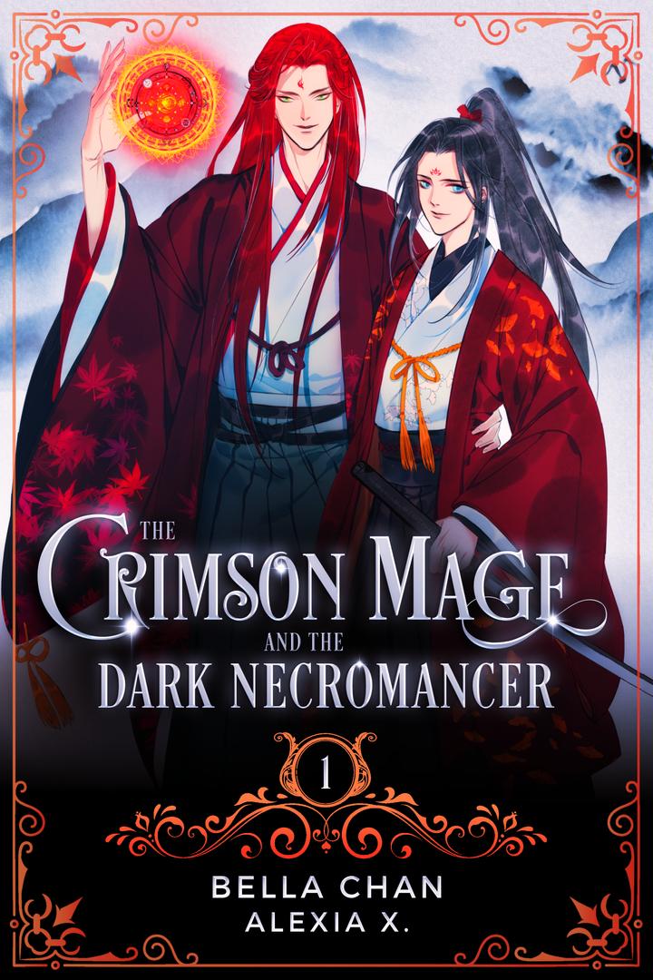 The Crimson Mage and the Dark Necromancer