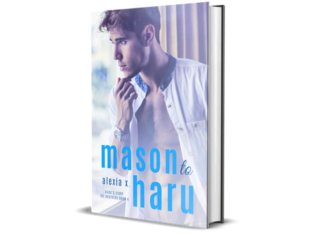 Mason to Haru BL Novel (Yaoi) Out Now! And Haru to Aiden BL Audiobook