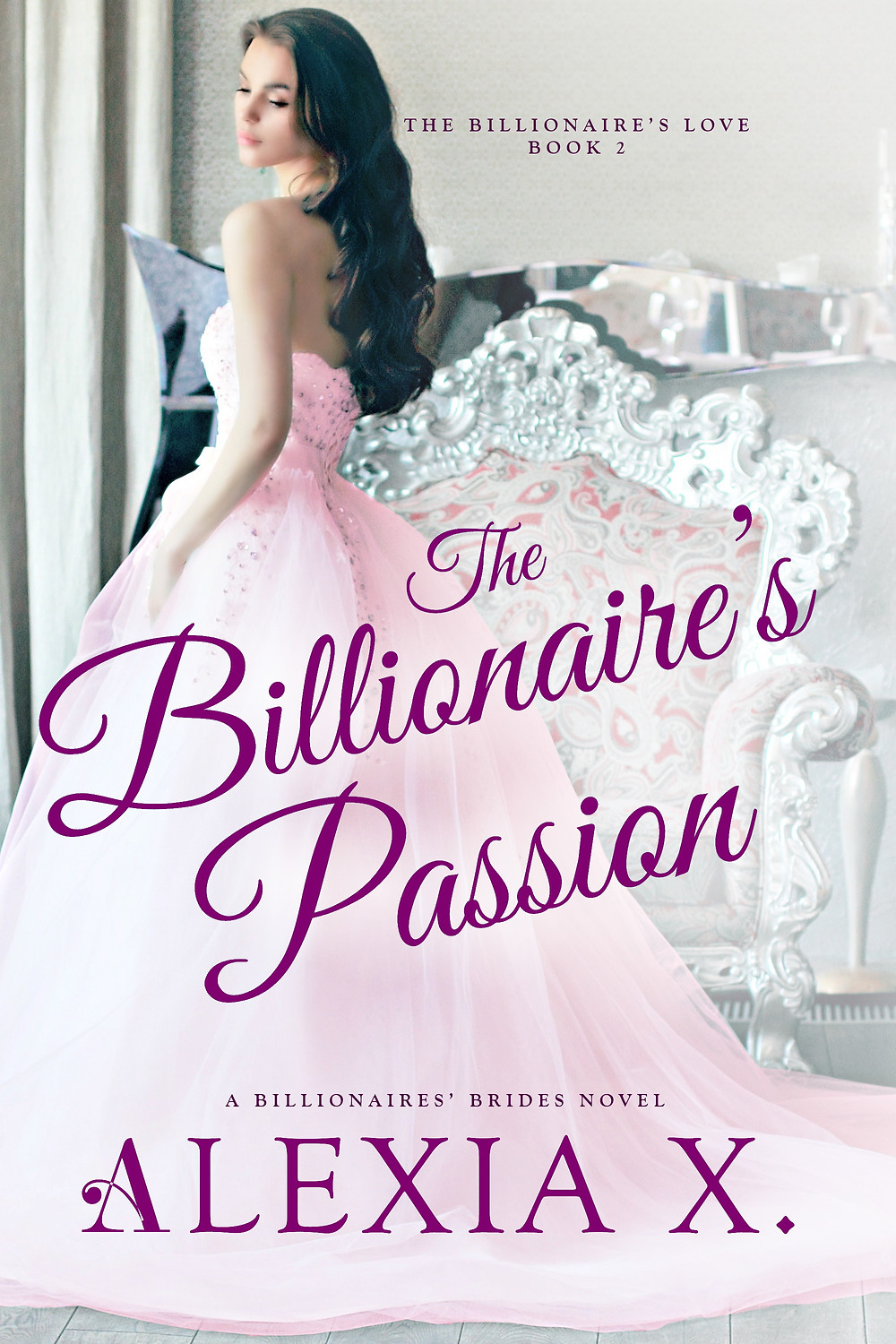 the billionaire's passion book cover contemporary romance book