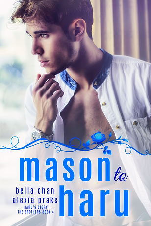 Mason to Haru The Brothers Book 4 mm gay harem romance book novel yaoi boys love bl author bella chan alexia praks alexia x hot handsome man with ripped body