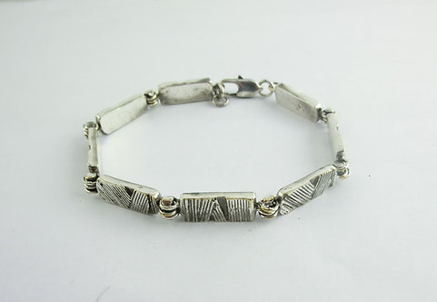 MAN BRACELET WITH SEGMENTS
