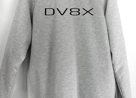 DV8X Logo'd Sweater- Heather Grey