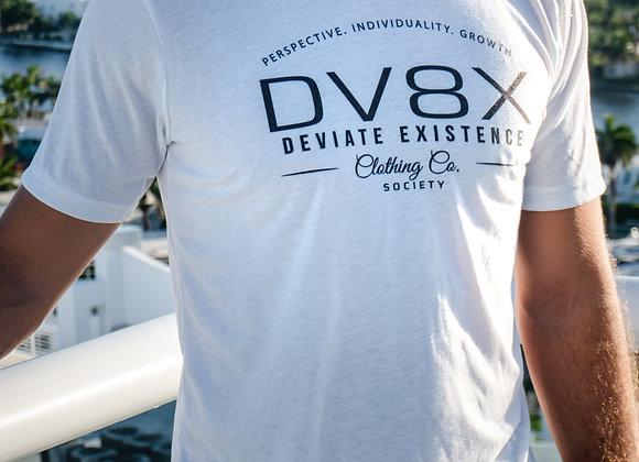 DV8XVinatge Tee - White