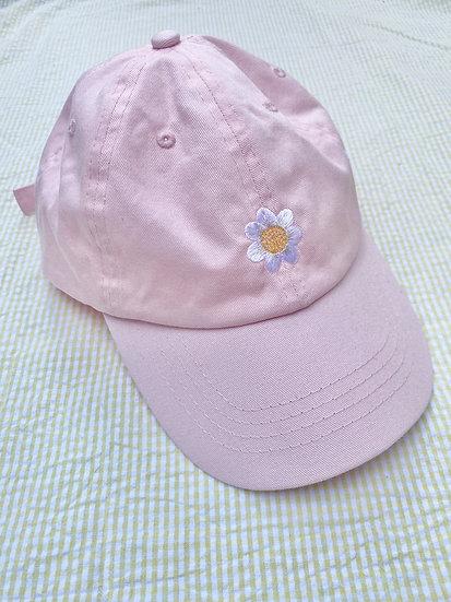 Light Pink Daisy Cap