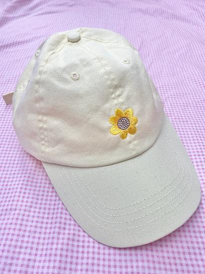 Yellow Sunflower Cap
