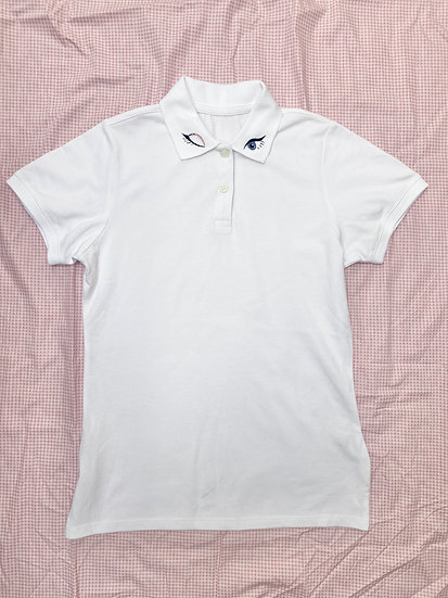XS Winking Eyes Polo Shirt