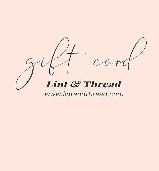 Gift Card £15-£50 (Digital Download)